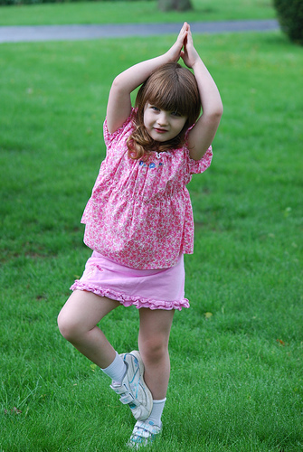 Itsy Bitsy Yoga for Tykes - Tree Pose